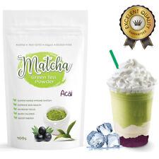 Matcha Outlet Brazilian Acai  Green Tea Powder (100g) FREE 1-3 Day USA Shipping
