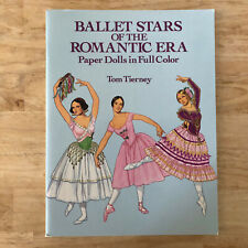 Ballet Stars of the Romantic Era Paper Dolls in Full Color Tom Tierney