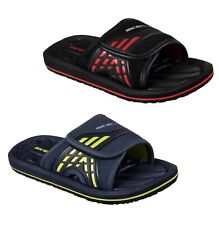 Boys Skechers Footwear Touch And Close Adjustable Sliders Sizes from C10 to 2