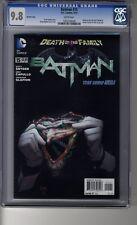 Batman (2011) # 15 1:25 Greg Capullo RI - CGC 9.8 WHITE Pgs -Death of the Family