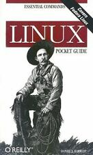 Pocket Guide Essential Commands: Linux Pocket Guide by Daniel J. Barrett...