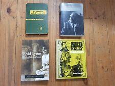 enid lyons / nadezhda mandelstam / ned kelly & a book of poetry (4 books)