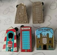 United Kingdom Collection 2011 Hidden Mickey Set WDW Choose a Disney Pin