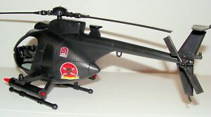 1:18 BBI Elite Force U.S Army Shark Mouth MH-6 Assault Little Bird Helicopter