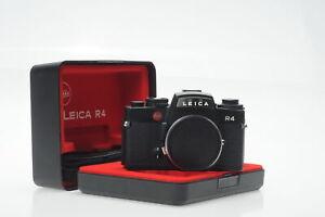 Leica R4 SLR Film Camera Body Black #036