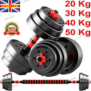 Dumbbells Weight lifting Barbell Set Adjustable 20 50Kg Dumbells for GYM Workout