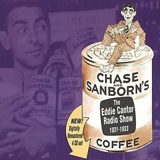 Chase and Sanborn Radio Show by Eddie Cantor (CD, Oct-1999, 4 Discs, Original...
