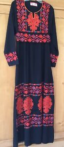 *NEW* ELBATOI - Egyptian Kaftan Caftan Galabeya Dress Embroidered Abaya Jilbab