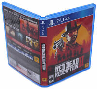Red Dead Redemption II PS4 Replacement Game Case And Insert (No Game Disc)