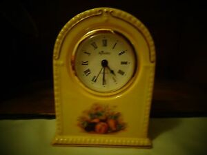 beautiful ansley orchard gold arch clock