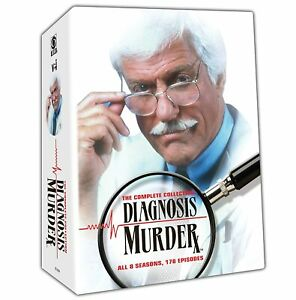 Diagnosis Murder the Complete Seasons 1, 2, 3, 4, 5, 6, 7 & 8 DVD Set New