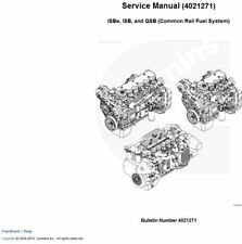 Cummins 3.9L 5.9L ISB3.9 ISB5.9 QSB6.7 QSB5.9 QSB4.5 Service Repair Manual CD