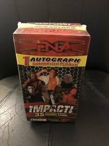 2008 Tristar TNA Wrestling Factory Sealed Blaster Box