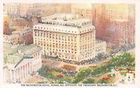 The Washington Hotel, Washington, D.C, early postcard, unused