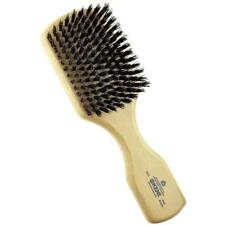 Kent OG2 Men Rectangular Club Hair Brush. 100% Pure Black Bristle.