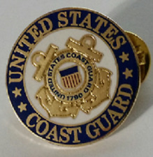 Us Coast Guard 1 inch Pin