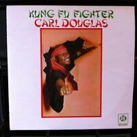 CARL DOUGLAS ~ Kung Fu Fighter ~ Original PYE Records 9 Track VINYL LP