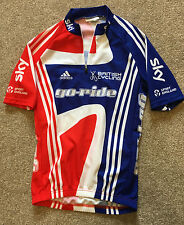 ADIDAS SKY BRITISH CYCLING GO-RIDE CYCLING JERSEY S SMALL