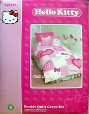~ Hello Kitty - QUILT DOONA COVER SET ( Double / Full )