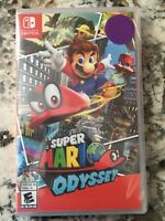 Super Mario Odyssey Nintendo Switch Brand New Factory Sealed