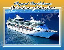 ROYAL CARIBBEAN CRUISE LINE (any ship) - Travel Souvenir Flexible Fridge Magnet