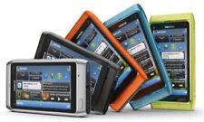 Teléfonos móviles libres de color principal naranja con conexión Bluetooth