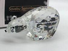 Swarovski Figur 013747 Eisbär / Polarbär 9,5 cm. Top Zustand