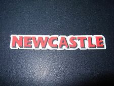 """NEWCASTLE Red 3"""" Logo STICKER decal craft beer brewery brewing"""