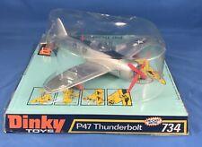 Rare Dinky 734 P-47 Thunderbolt Plane - Made In England - Motor Works