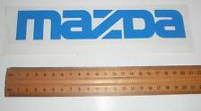 Mazda blue  vinyl sticker / decal 200mm x 35mm