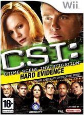 NINTENDO WII CSI: HARD EVIDENCE  NEW SEALED