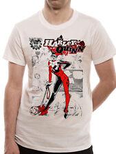 BATMAN HARLEY QUINN- KABOOM Official T Shirt All Sizes White Mens Licensed New