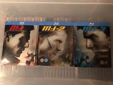 Mission Impossible 1,2,3,blu ray STEELBOOKS
