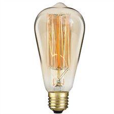 S&L Premium Edison 25 Watt Glühbirne im Vintage Design mit E27 Fassung