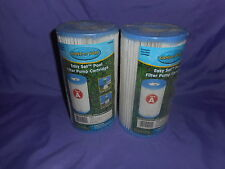 2 NEW SAND N SUN EASY SET POOL FILTER PUMP CARTRIDGES 59900W TYPE A