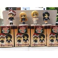 Shokugeki no Soma anime figure PVC figures doll toy set of 4pcs  new year gift