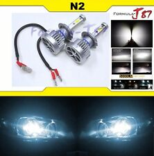 LED Kit N3 60W H7 6000K White Two Bulbs Head Light High Beam Replacement Lamp OE