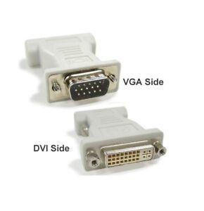 10 X DVI-I 24+5 Female to VGA Male 15 pin Adapter Connector Converter