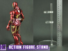 2 x Clear stand for 1/6 1/12 hot toys blythe action figure dolls obitsu models