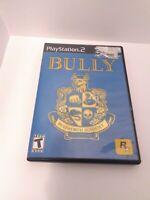 Bully (Sony PlayStation 2, 2006) CIB Tested Fast Shipping
