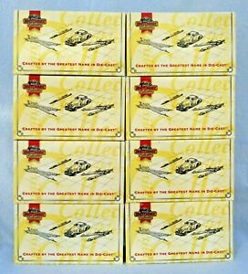 MATCHBOX COLLECTIBLES GREAT TANKS OF THE WORLD Ltd Ed 1:72 Diecast Set of 8 1995