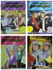 Adventures of Mary-Kate & Ashley Olsen Lot of 5 Books-Flying Phantom, Game Show