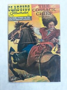Classics illustrated 164 1st Edition First. The Cossack Chief Nikolai Gogol