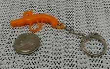 Vintage Gumball ? Plastic flintlock pistol Keychain Fob