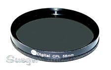 58mm Digital Circular Polarizer (CPL) Lens Filter
