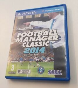 Football Manager Classic 2014 Game For The Sony Playstation PS Vita