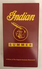 Indian Summer Motorcycle VHS 1994-TESTED-VERY RARE VINTAGE COLLECTIBLE-SHIP N24H