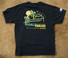 HARD ROCK CASINO Hollywood FLORIDA 2006 WORLD NAGAAA Series black t shirt size L