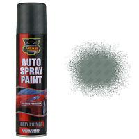6 x Grey Primer Aerosol Spray Cans 250ml Cars & Vans Auto Spray Paint