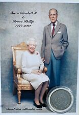 More details for the queen and prince phillip comm coin keepsake